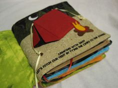Homemade Quiet Book. I'm so excited to make something like this when I have kids!