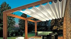 Would you like to have a beautiful pergola built in your backyard? You may have a lot of extra space available for something like this, but you'll need to focus on checking out different pergola plans before you have anything installed. Pergola Attached To House, Pergola With Roof, Covered Pergola, Pergola Plans, Patio Roof, Metal Pergola, Awning Patio, Aluminum Pergola, Wooden Gazebo