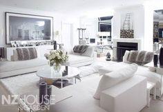 NZ House & Garden Image Gallery. Amazing living room.