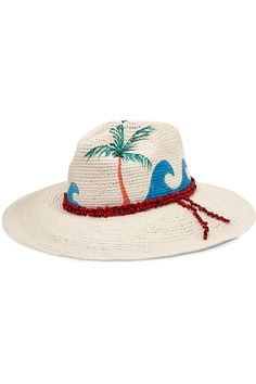 Off-white toquilla straw 100% toquilla straw Spot clean Imported