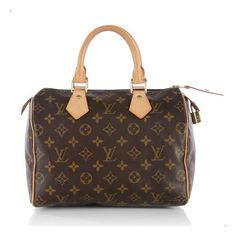 Louis Vuitton Monogram Speedy 25 Satchel, classic!