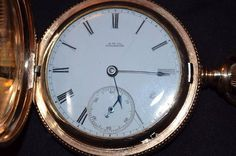 dc6bdeda992 Antiguo reloj de bolsillo Waltham 1881 Relógio De Bolso