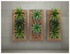Painel Jardim Vertical 55x100cm - Olilo