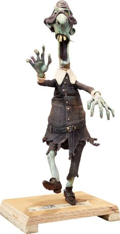 Animation Art:Maquette, ParaNorman Eben Hardwick Zombie Original Animation Puppet(LAIKA, 2012).... Image #5