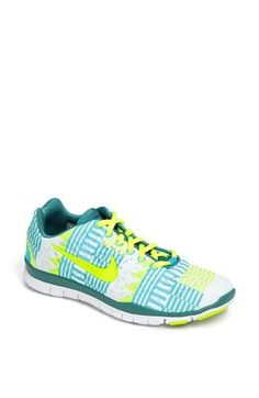 Nike 'Free TR Fit 3 Print' Training Shoe (Women) available at #Nordstrom.  I love this brand!!