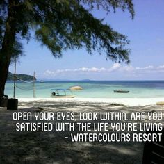 Enjoy your life #WatercoloursResort #Pulau #Perhentian #Beautiful #Beach #Island #Resort #Travel #Vacation #Tours #Professional #Dive #Centre #Malaysia #Snorkeling #Corals #Fish #MarineLife #PADI #ScubaDive #DiveTrip #BoatDive #EcoConservation #Holiday #Family #TeamBuilding #Chalets #Impressedus #Hospitality #Discover