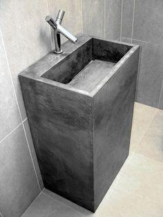 furniture: washstands / washbasins / sinks on Pinterest  Concrete ...