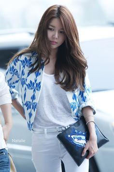 SNSD Sooyoung Gimpo Airport fashion 140619