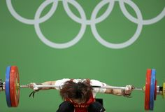 Levantamento de peso Rio 2016 Xiang Yanmei (CHN) - 69kg (Foto: Reuters)