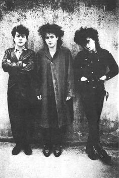 """Boys don't cry."" The Cure"