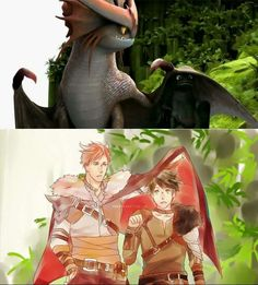 Isn't the big dragon supposed to be a girl?<<<I'm pretty sure it's not but I could be wrong either way it's still cool