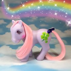 G1 Vintage My Little Pony European Exclusive 7 Tales Clover. So Beautiful!