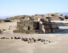 Oaxaca - Oaxaca Mexico - The 2,800 Year Old Monte Alban Ruins