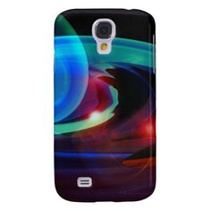 Alien Invasion Abstract Galaxy S4 Case