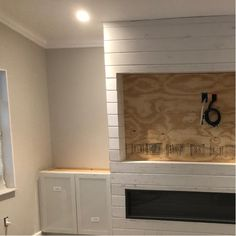 Built In Around Fireplace, Tv Over Fireplace, Build A Fireplace, Fireplace Built Ins, Shiplap Fireplace, Home Fireplace, Living Room With Fireplace, Fireplace Design, Living Room Decor