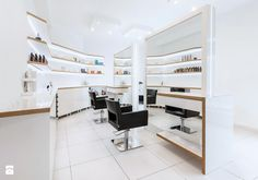 Isadora styling chairs. Salon Ideas from Ayala salon furniture. Modern salon design. Scandinavian style hairdressing salon.