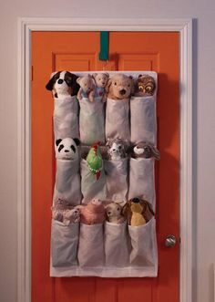 Don't let a tantrum get in the way of a good night's sleep. This simple hanging organiser means your kids will always know where to find their favourite teddy come bedtime. Hanging shoe organiser w16 pockets SKUBB, £4.50