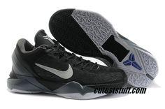Nike Zoom Kobe 7 All Black Cool Grey 488244 008 Kobe 7 Shoes 2c4462e9f