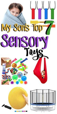 These are the most effective, most versatile, and most LOVED sensory toys and equipment. Check out these suggestions from My Mundane and Miraculous Life. If you can only have a couple of things, these are the essentials! #sensoryprocessing #SPD #OT #Autistic #playtime #sensory Sensory Activities, Sensory Play, Activities For Kids, Social Stories Autism, Autism Resources, Auditory Processing Disorder, Sensory Boxes, Best Kids Toys, Toddler Toys
