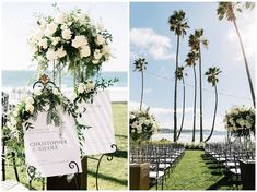 Get ideas for your next summer event from this stunning seaside celebration. Click through to PartySlate for all the modern-chic inspo you need.  #dreamwedding #weddingideas #beachwedding #futurewedding #weddingplanning #destinationwedding Destination Wedding, Wedding Planning, Summer Events, Flower Petals, Weddingideas, Floral Arrangements, Seaside, Wedding Styles, Celebration