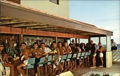 The Castaways - Ocean Front Bar Miami Beach Florida