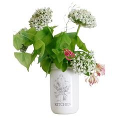 Hand made vase or kitchen utensil pot. This looks stunning standing on a kitchen dresser or windowsill filled with flowers. It's also a stylish way to store a wooden spoon or two.