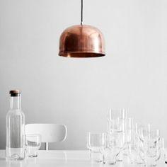 Lampada da soffitto GM 30 rame #menu #design