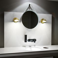 Add a little sparkle and glamor to you modern bathroom with a few modern bathroom wall sconces. Here are our top 10 modern bathroom wall sconces. Led Bathroom Lights, Modern Bathroom Lighting, Modern Wall Lights, Track Lighting Fixtures, Sconce Lighting, Cool Lighting, Lighting Ideas, Task Lighting, Bathroom Tapware