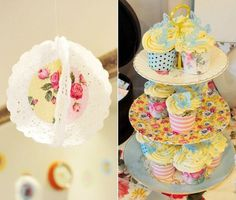 Vintage Style Tea Party Baby Shower {Guest Feature} — Celebrations at Home