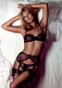 Lingerie: Kate Moss for Agent Provocateur