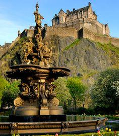 Edinburgh-i kastély Skócia