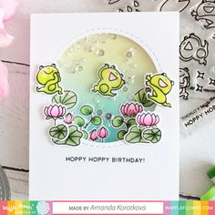 Amanda shares how to make this hoppy birthday shaker card on our blog and Youtube channel today! Full video here:…