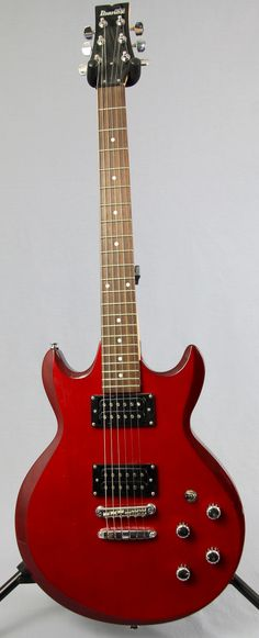 Used Ibanez GIO GAX Electric Guitar | Red Finish