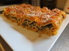 Creamy Pumpkin And Spinach Vegan Lasagne