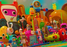 Mutant toys, rendered in 3D. Plastic nation-part 1 on Behance