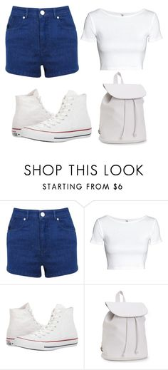 """""""Untitled #51"""" by iamalyceparis on Polyvore featuring Miss Selfridge, Converse and Aéropostale"""