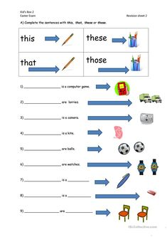 This, that, these, those worksheet - Free ESL printable worksheets made by teachers