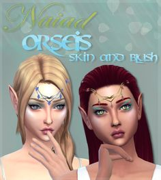 Sims 4 CC's - The Best: Skin & Blush by Dangerouslyfreejellyfish Sims 4 Cc Finds, Sims 4 Clothing, Sims Mods, The Sims4, Sims 4 Custom Content, Sims Cc, Blush, Maxis, Custom Items
