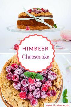 Himbeer Cheesecake mit Haferlocken Knusperstreuseln via @DieZimtblume