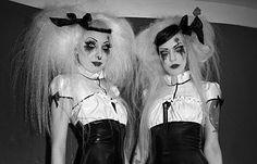 Ann-Sophie and Jenni, The Torture Garden, London, 2010. © Derek Ridgers