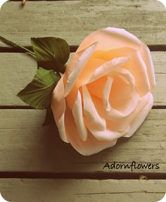 Large paper flower,paper rose for wedding, photography prop.. $25.00, via Etsy.