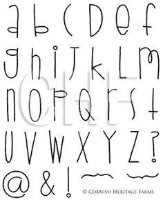 Hand Lettering Alphabet, Doodle Lettering, Creative Lettering, Lettering Styles, Brush Lettering, Cute Fonts Alphabet, Alphabet Design, Handwriting Fonts Alphabet, Simple Lettering