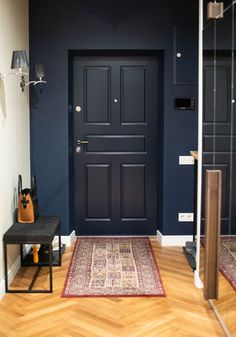 House Paint Interior, Apartment Interior, Apartment Design, Home Interior Design, Interior Decorating, Style At Home, Minimalist Home Furniture, Architecture Antique, Flur Design