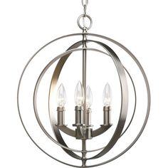 1STOPlighting.com   Equinox - Four Light Sphere Foyer