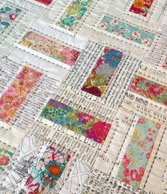 Patchwork Quilting, Scrappy Quilts, Easy Quilts, Mini Quilts, Patchwork Cushion, Patchwork Patterns, Patchwork Designs, Jellyroll Quilt Patterns, Patchwork Ideas
