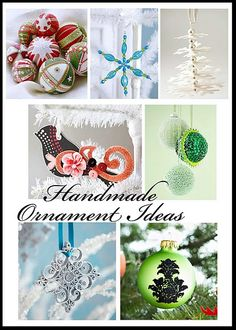 Handmade ornaments