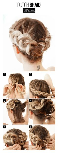 Tutorial Trenza Corona Holandesa – Dutch Braid DIY #TRESemméPerú