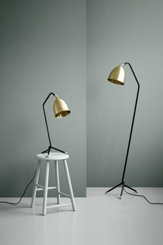 Give your desk a touch of premium Danish design with H. Skjalm P's Tall Table Lamp. The black stand with brass detailing will go nicely with any office design scheme, plus being quite minimal means you can keep it as a subtle piece on your desk or allow it to be the standout feature.