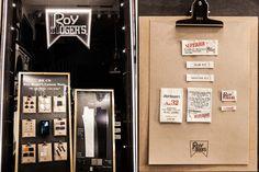 Retail Design Blog — Roy Rogers window display at Milan Fashion Week...