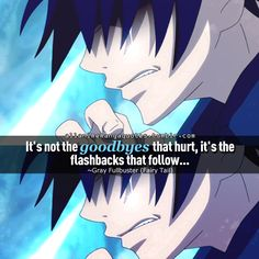 anime quotes Gray (Fairy tail)